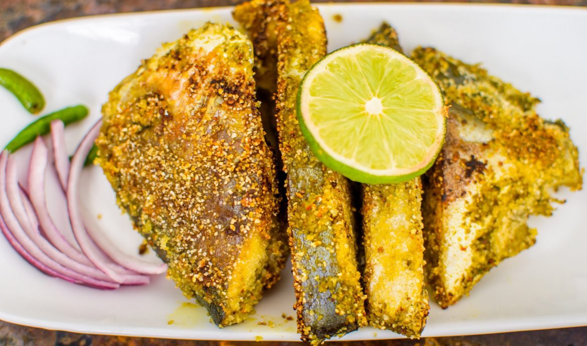 Masala Fried Pomfret- The perfect fish dinner recipe!