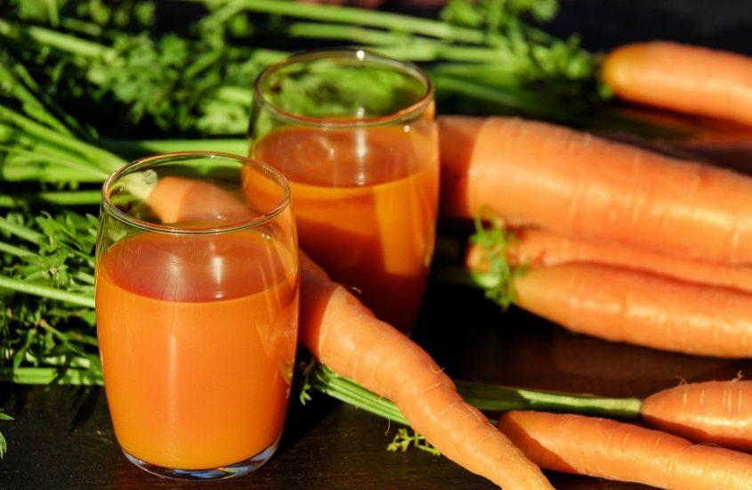 Carrot Juice Glasses Drink Juice Carrots
